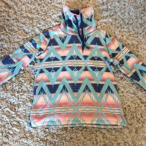 American Living Aztec pullover in Southwest colors